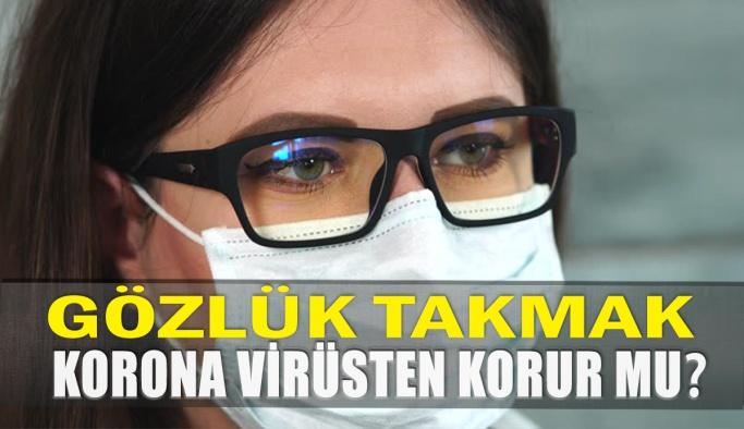 Gözlük Takmak Koronavirüsten Korur mu?