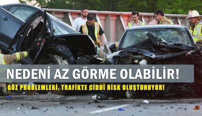 Trafik Kazalarına Göz Problemleri Sebep Olabilir Mi?