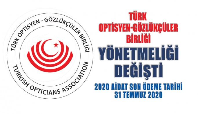 Türk Optisyen ve Gözlükçüler Birliği Yönetmeliği Değişti
