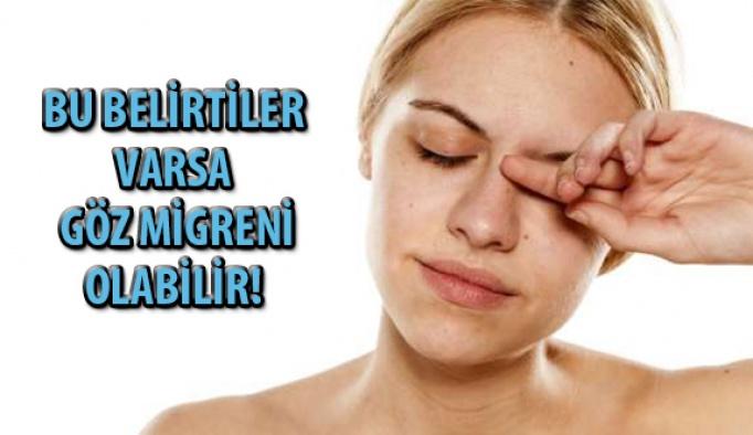 Bu Belirtiler Varsa Göz Migreni Olabilir!