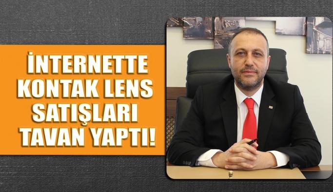 İnternette Kontak Lens Satışları Tavan Yaptı!