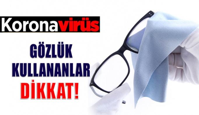 Koronavirüs Göze Temas İle Bulaşıyor