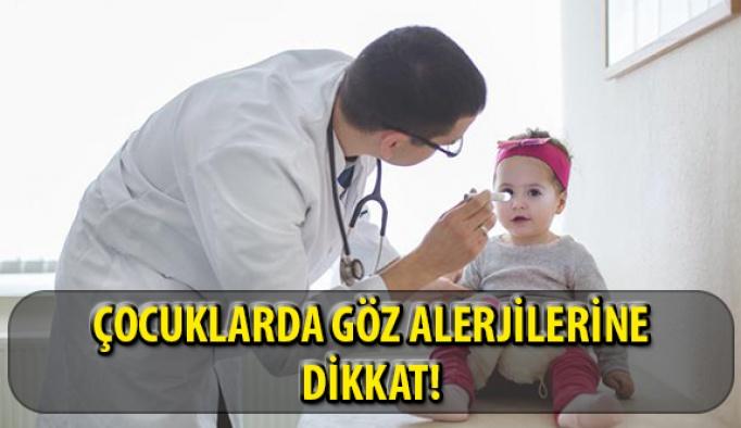 Çocuklarda Alerjik Göz Hastalıklarına Dikkat!