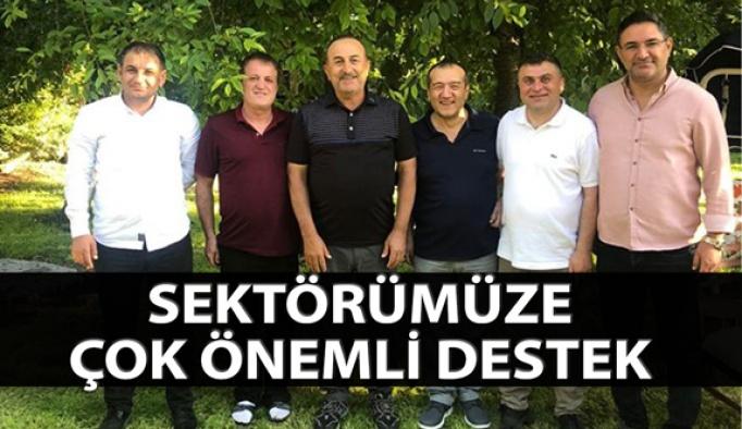 Optik Sektörüne Bakan Mevlüt Çavuşoğlu'ndan Destek