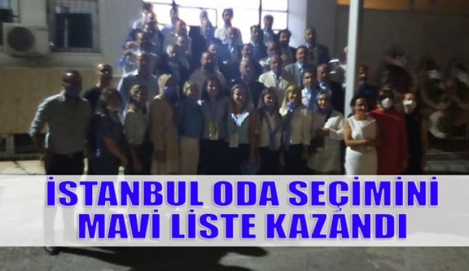 İstanbul Optisyen Gözlükçüler Odası Seçimini Mavi Liste Kazandı