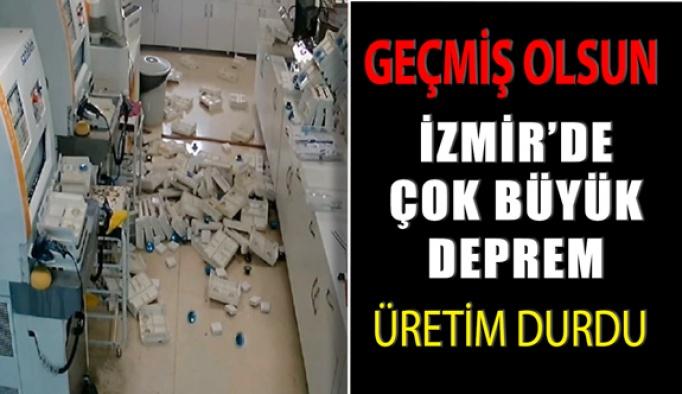 Geçmiş Olsun İzmir, İzmir'de Çok Büyük Deprem Oldu