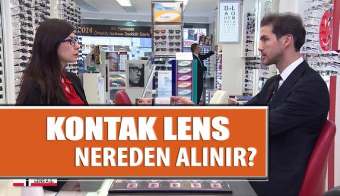 Kontak Lens Nereden Alınır?