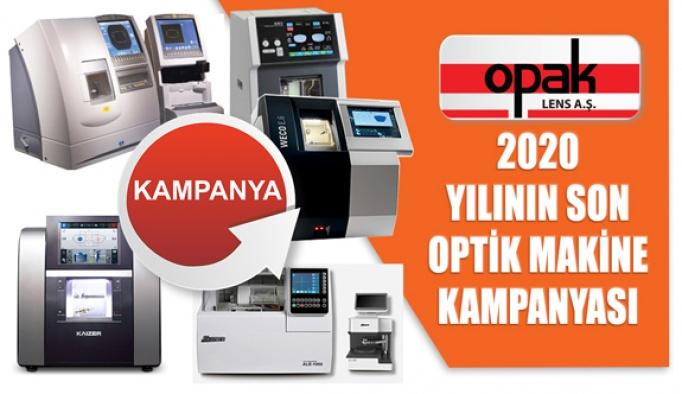 Opak Lens Optik Makinede Yılın Son Kampanyasını Başlattı