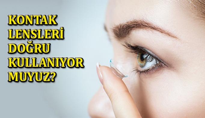 Kontak Lensleri Doğru Kullanıyor muyuz?