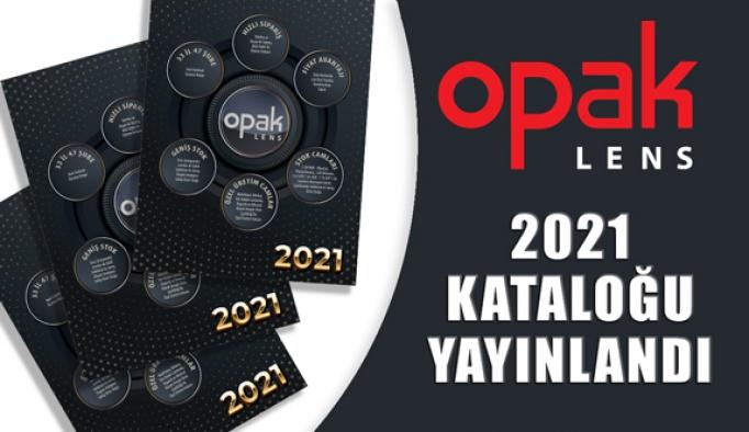 2021 Opak Lens Kataloğu Online Olarak Yayınlandı