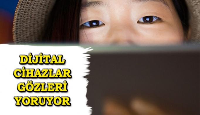 Bilgisayarlar Ve Dijital Cihazlar Gözleri Yoruyor