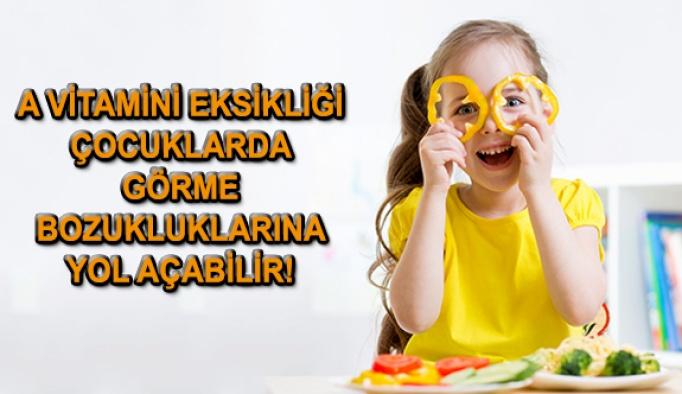 Dikkat! A Vitamini Eksikliği Çocuklarda Görme Bozukluklarına Yol Açabilir