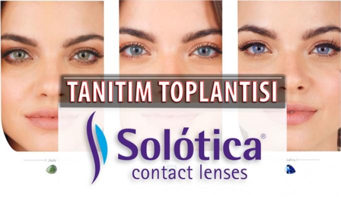 Solotica Lens Türkiye Tanıtım Toplantısı 5 Aralık