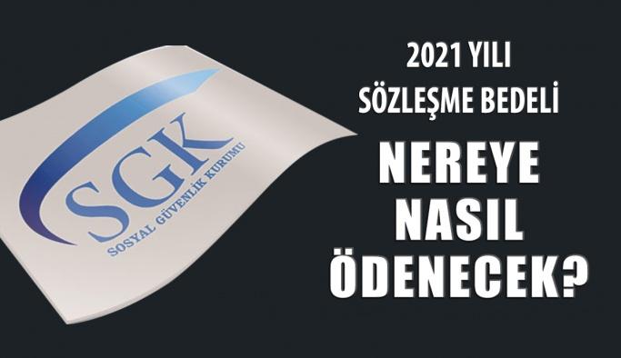 2021 Yılı SGK Optik Sözleşme Ücreti Nereye ve Nasıl Ödenecek