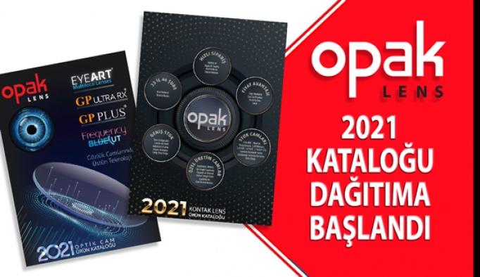 Opak Lens 2021 Ürün Kataloğu Dağıtıma Başlandı
