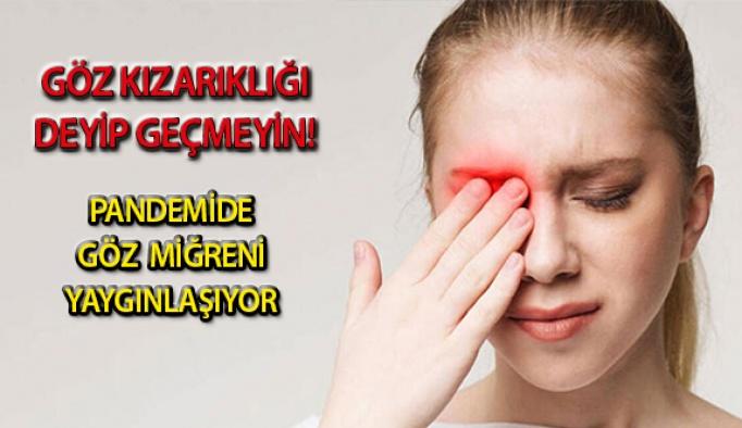 Pandemide Göz Migreni Yaygınlaşıyor!