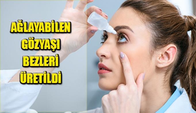 Göz Kuruluğu Tedavisinde Yeni Yöntem! Ağlayabilen Gözyaşı Bezleri Üretildi