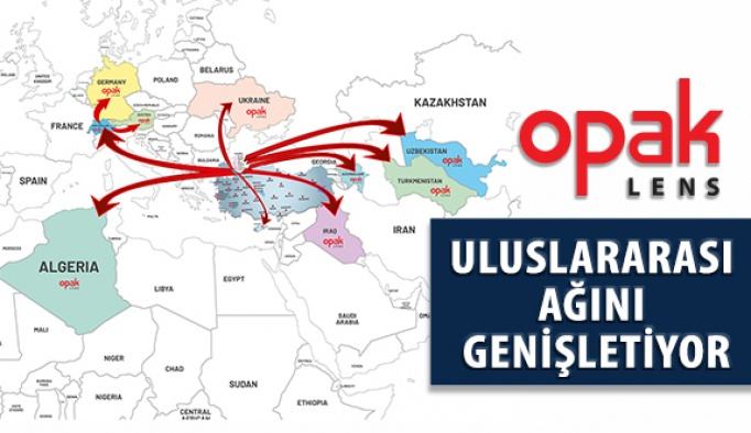 Opak Lens Uluslararası Dağıtım Ağını Genişletiyor