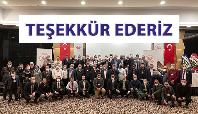 Türk Optisyen Gözlükçüler Birliği Yönetimine Teşekkür