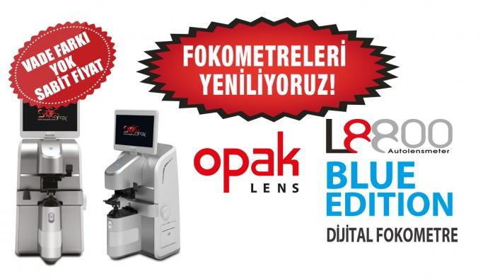 Opak Lens Fokometreleri Yeniliyoruz Kampanyası Başlattı