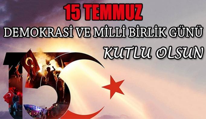 15 Temmuz Demokrasi Zaferinin 5. Yılı Kutlu Olsun