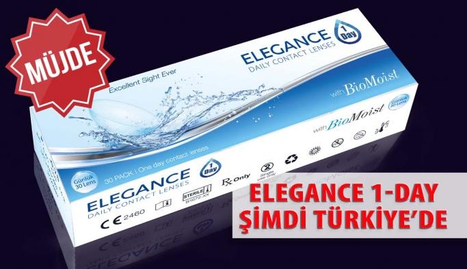 Elegance 1- Day Günlük Şeffaf Lensler Türkiye'de