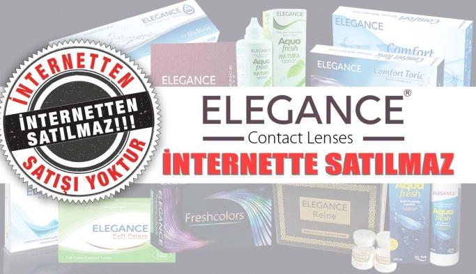 Elegance Kontak Lensleri İnternetten Satılmaz