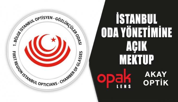 Reçete İle Yönlendirme Konusunda İstanbul Oda Yönetimine Açık Mektup