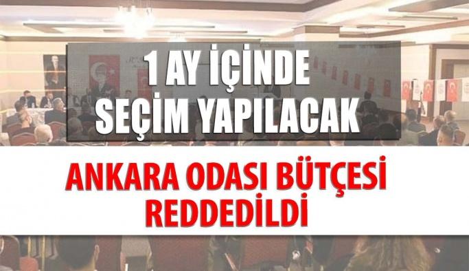 Ankara Odası Bütçesi İbra Edilmedi