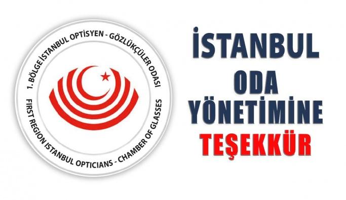 """Erol Harbi """"İstanbul Oda Yönetimine Teşekkür"""""""