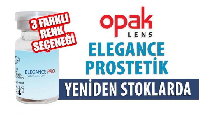 Elegance Prostetik Renkli Lens Yeniden Opak Lens Stoklarında