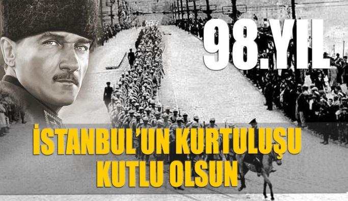 İstanbul'un Kurtuluşu Kutlu Olsun
