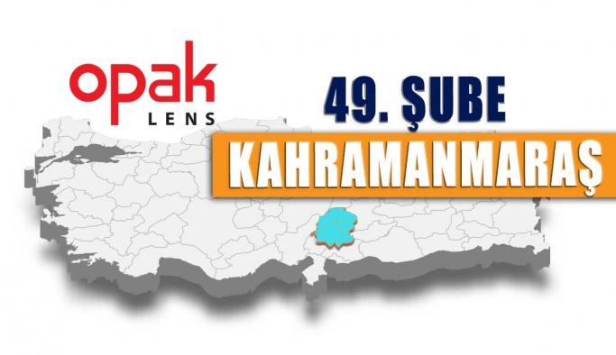 Opak Lens'in 49. Deposu Kahramanmaraş'ta Açıldı.