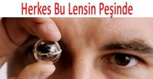 Gözünüze Ekran Özelliği Kazandıran Lens!