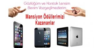 Mansiyon Ödülü Kazanan Yarışmacılarımız...