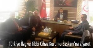 Sektör Temsilcilerinden TİTCK Başkanına Ziyaret...
