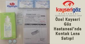 Kayseri Özel Göz Hastanesi#039;nde...
