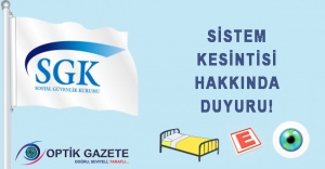 SGK Sistem Kesintisi Hakkında Duyuru!