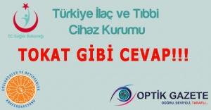 Türkiye İlaç ve Tıbbi Cihaz Kurumundan...