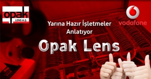 Opak Lens, Vodafone Reklamında!