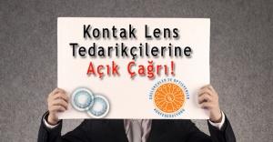 Kontak Lens Tedarikçilerine Açık Çağrı!