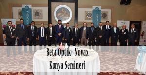 Beta Optik - Novax Konya Semineri Basın Bülteni