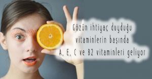 Göz Sağlığı İçin Vitamin Ağırlıklı Beslenin