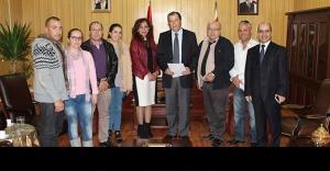 Gülle, Kıbrıs Türk Optik Gözlükçüler Birliği'ni Kabul Etti