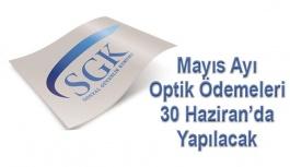 Optik Katılım Payı Ödemeleri Yarın Yapılıyor