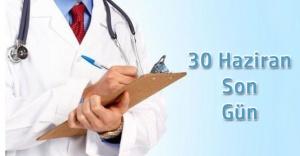 Sağlık Hakkı Haziran Sonunda Doluyor