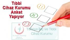 Türkiye İlaç ve Tıbbi Cihaz Kurumu Anket Düzenliyor