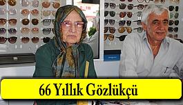 78 yaşındaki gözlükçü Zekiye Hanım