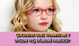 Çocuklarda lens kullanımı kaç yaşında olmalı