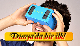 Yerli üretim VR gözlük dünyadabir ilk